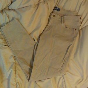Old Navy khaki skinny's size 12